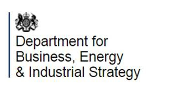 Department for Business, Energy and Industrial Strategy (BEIS) logo